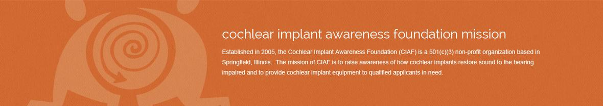 Cochlear Implant Awareness Foundation